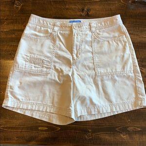 Dockers khaki shorts. Size 6